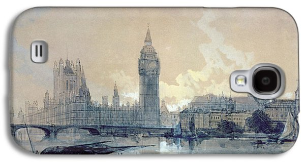 The Houses Of Parliament Galaxy S4 Case by David Roberts