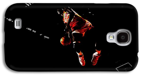 Dunk Mixed Media Galaxy S4 Cases - The Human Highlight Film Galaxy S4 Case by Brian Reaves