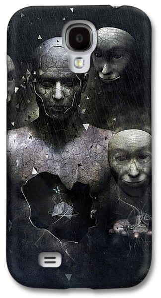 The Human In Me Galaxy S4 Case by Cameron Gray