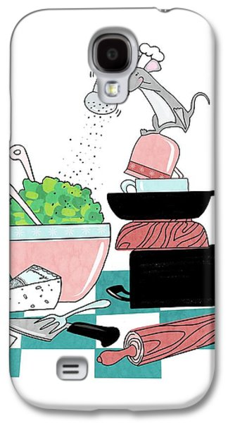 The Hungry Mouse Galaxy S4 Case by Little Bunny Sunshine