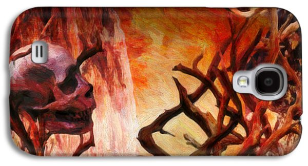 Macabre Digital Galaxy S4 Cases - The Illusion of Desire  Galaxy S4 Case by Jacob King