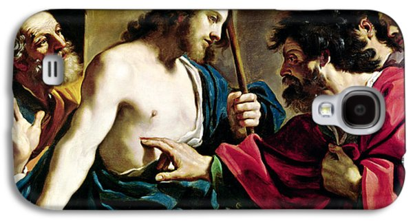 The Incredulity Of Saint Thomas Galaxy S4 Case by Guercino