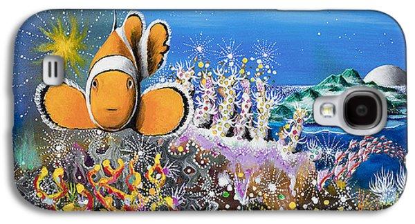 Angel Mermaids Ocean Galaxy S4 Cases - The Island of Vanuasemia Galaxy S4 Case by Lee Pantas