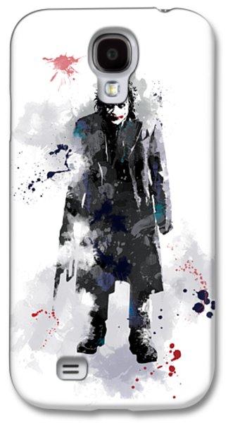 The Joker Galaxy S4 Case by Marlene Watson
