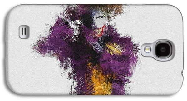 The Joker Galaxy S4 Case by Miranda Sether
