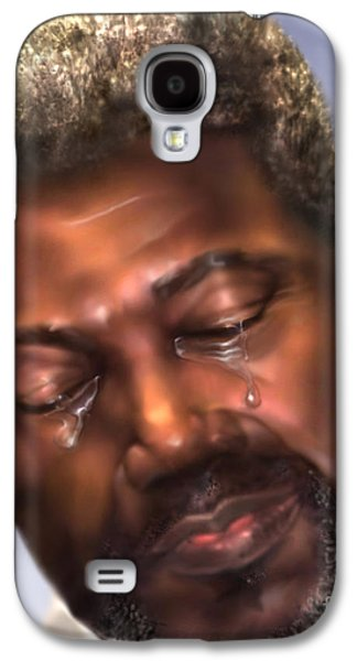 African-american Galaxy S4 Cases - The Joy Of My Salvation 2 Galaxy S4 Case by Reggie Duffie