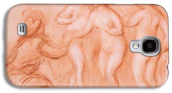 The Judgement Of Paris Galaxy S4 Case by Auguste Renoir