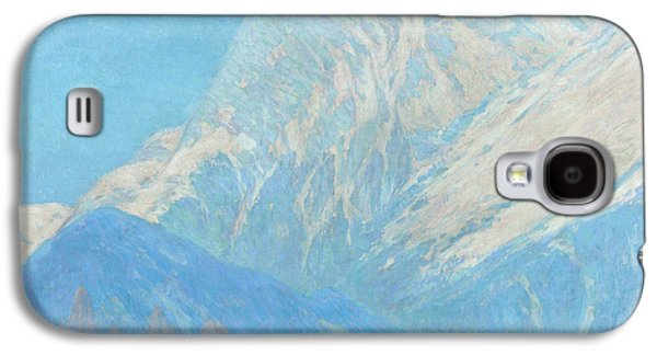 Charles River Paintings Galaxy S4 Cases - The Karwendel Spitz solid Galaxy S4 Case by Celestial Images