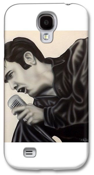 The King  Galaxy S4 Case by Darren Robinson