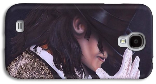 King Of Pop Galaxy S4 Cases - The King of Pop Galaxy S4 Case by Darren Robinson