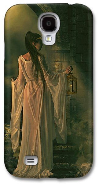 Camelot Galaxy S4 Cases - The Lady of Shalott Galaxy S4 Case by Shanina Conway