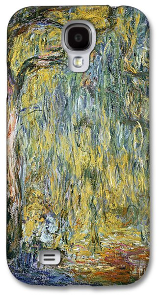 The Large Willow At Giverny Galaxy S4 Case by Claude Monet