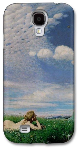 The Lark Galaxy S4 Case by Pal Szinyei Merse