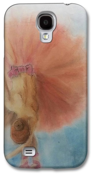 Ballet Dancers Pastels Galaxy S4 Cases - The Last Call Galaxy S4 Case by Mary Lynn Smith