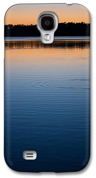 Sunset Abstract Galaxy S4 Cases - The Last Light Galaxy S4 Case by Parker Cunningham