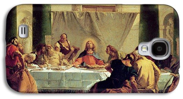 Religious Galaxy S4 Cases - The Last Supper Galaxy S4 Case by Giovanni Battista Tiepolo