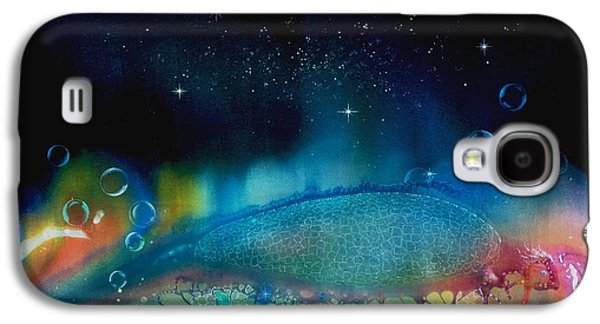Angel Mermaids Ocean Galaxy S4 Cases - The Last Turtle from the Sea of Cassiopeia Galaxy S4 Case by Lee Pantas
