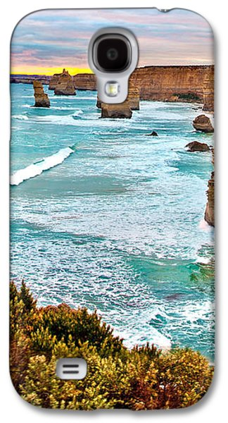 Beach Landscape Galaxy S4 Cases - The Last Wave Galaxy S4 Case by Az Jackson