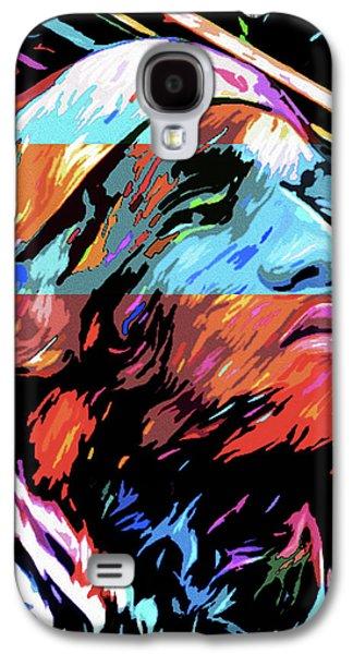 The Lebron James By Nixo Galaxy S4 Case by Nicholas Nixo