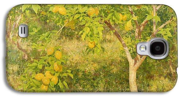 The Lemon Tree Galaxy S4 Case by Henry Scott Tuke