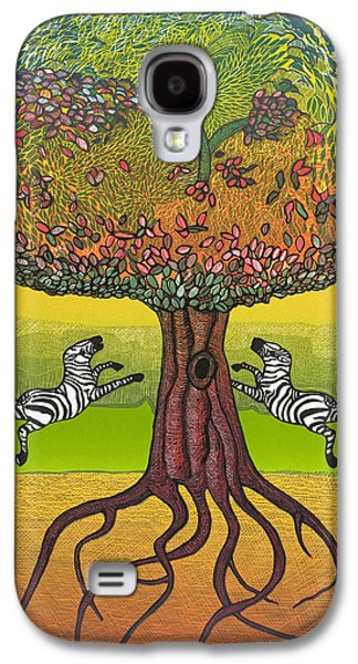 The Life-giving Tree. Galaxy S4 Case by Jarle Rosseland