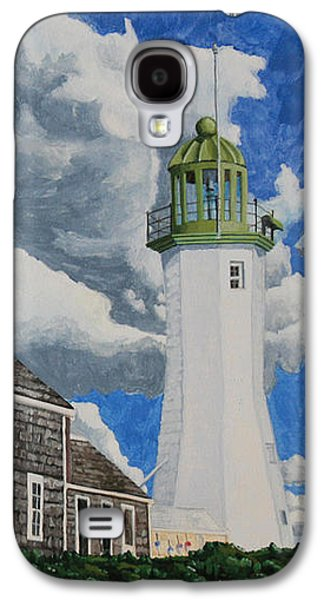 The Light Keeper's House Galaxy S4 Case by Dominic White