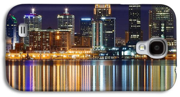 The Lights Of A Louisville Night Galaxy S4 Case by Frozen in Time Fine Art Photography