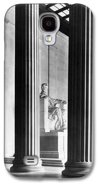 Honest Abe Galaxy S4 Cases - The Lincoln Memorial Galaxy S4 Case by War Is Hell Store