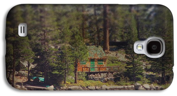 Searching Digital Art Galaxy S4 Cases - The Little Cabin Galaxy S4 Case by Laurie Search