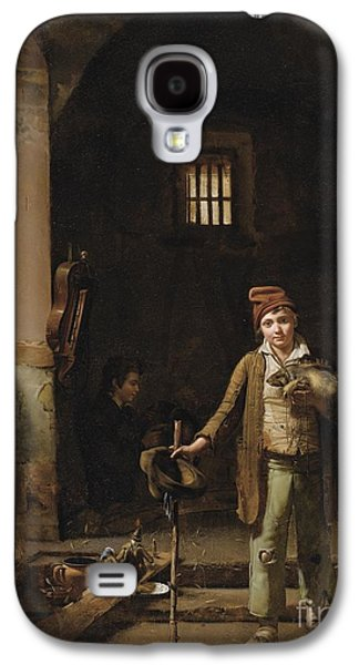 The Little Savoyards' Bedroom Or The Little Groundhog Shower Galaxy S4 Case by Celestial Images