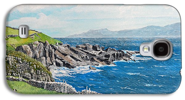The Lonely Cliffs Of Dingle, Ireland Galaxy S4 Case by Dan O'Neill