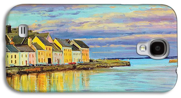 Fishing Village Galaxy S4 Cases - The Long Walk Galway Galaxy S4 Case by Conor McGuire