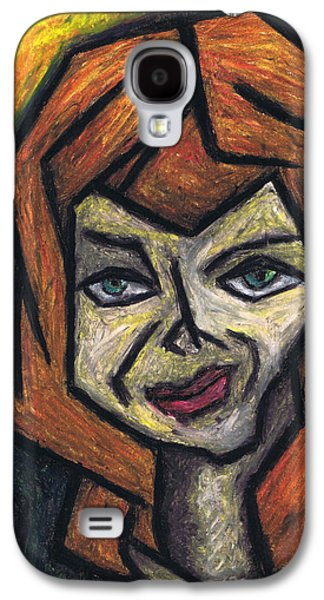 Surrealism Pastels Galaxy S4 Cases - The Look Galaxy S4 Case by Kamil Swiatek