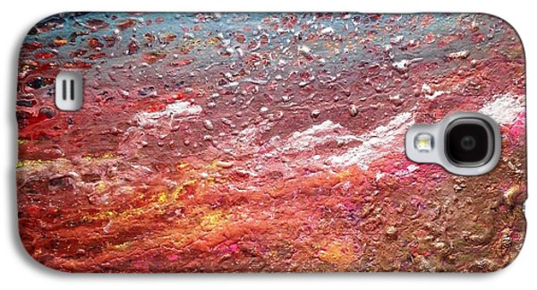 Colorful Abstract Galaxy S4 Cases - The Lost Planet Galaxy S4 Case by Ivy Stevens-Gupta