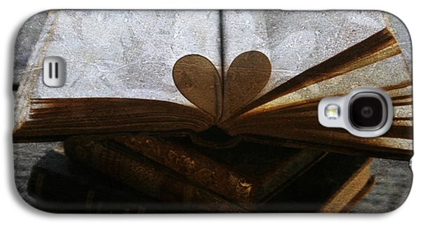 Temperament Galaxy S4 Cases - The Love of a Book Galaxy S4 Case by Nomad Art And  Design