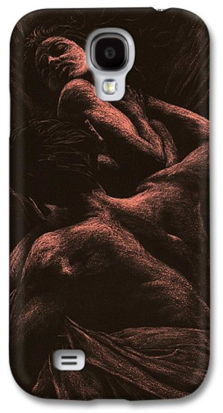 Bed Galaxy S4 Cases - The Lovers Galaxy S4 Case by Richard Young