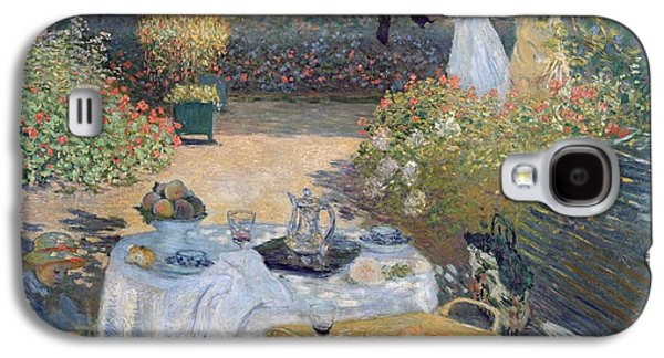 The Luncheon Galaxy S4 Case by Claude Monet