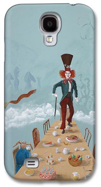 The Mad Hatter Tea Party Galaxy S4 Case by Joe Odonovan