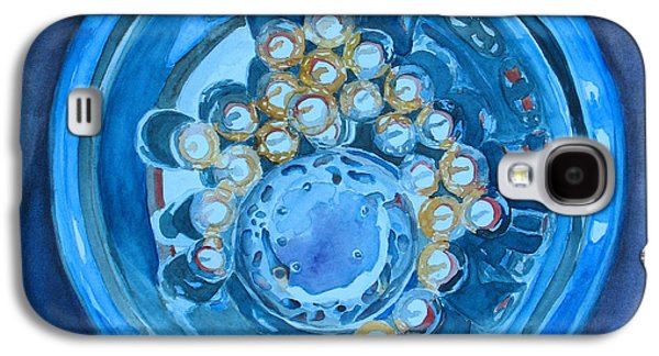 Marble Galaxy S4 Cases - The Magic Bowl Galaxy S4 Case by Jenny Armitage