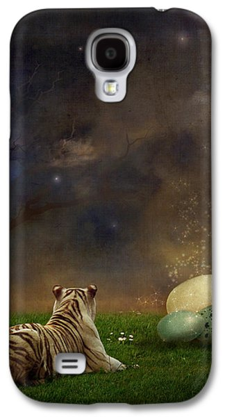 Surreal Landscape Galaxy S4 Cases - The magical of life Galaxy S4 Case by Martine Roch
