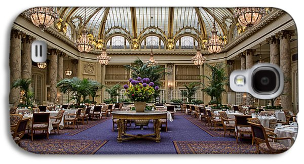 Landmarks Photographs Galaxy S4 Cases - The Magnificent Dining Room of the Palace Hotel Galaxy S4 Case by Mountain Dreams