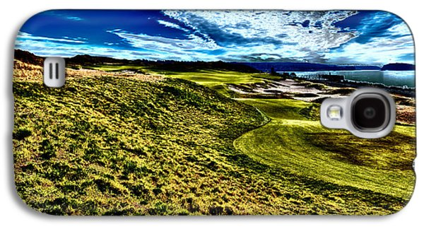 The Majestic Hole #16 At Chambers Bay Galaxy S4 Case by David Patterson