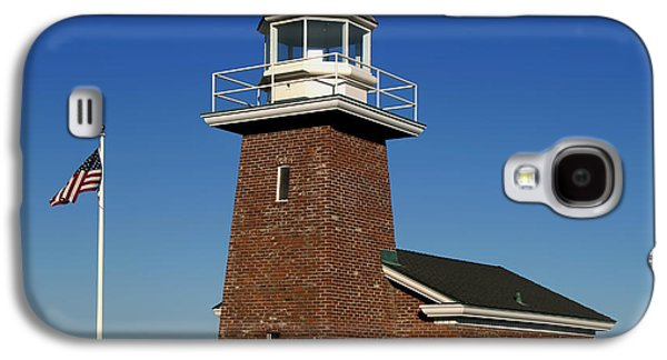 Beauty Mark Photographs Galaxy S4 Cases - The Mark Abbot Lighthouse And Surfer Museum - Santa Cruz California Galaxy S4 Case by Mountain Dreams