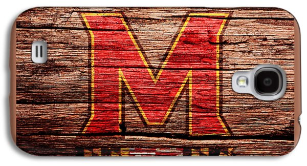 The Maryland Terrapins 1a Galaxy S4 Case by Brian Reaves