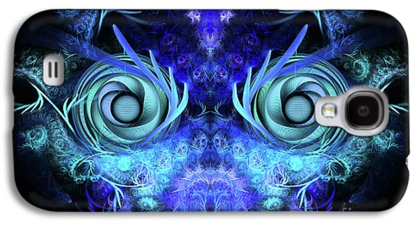 Abstract Digital Digital Art Galaxy S4 Cases - The Mask Galaxy S4 Case by John Edwards
