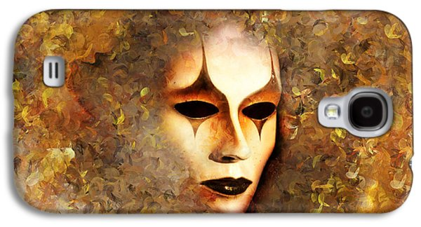 Emotion Mixed Media Galaxy S4 Cases - The Mask Galaxy S4 Case by Photodream Art