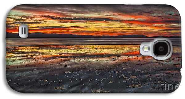 Sunset Abstract Galaxy S4 Cases - The Melting Pot Galaxy S4 Case by Mitch Shindelbower