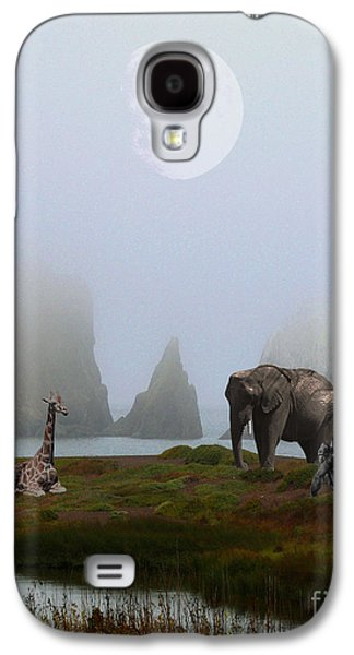Giraffe Digital Galaxy S4 Cases - The Menagerie Galaxy S4 Case by Wingsdomain Art and Photography