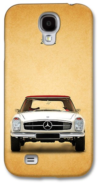 Recently Sold -  - Sports Photographs Galaxy S4 Cases - The Mercedes 280 SL Galaxy S4 Case by Mark Rogan