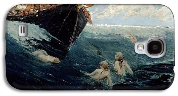 The Mermaid's Rock Galaxy S4 Case by Edward Matthew Hale